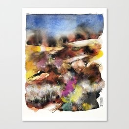 Abstract Tuscan Landscape Canvas Print