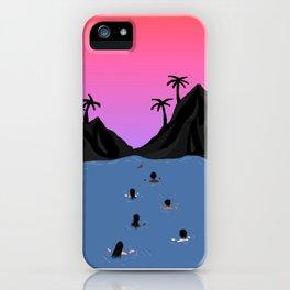 Swim Together iPhone Case