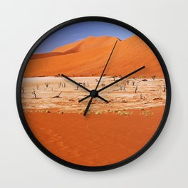 Dead Vlei Namibia V Wall Clock
