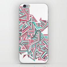Geo Run iPhone & iPod Skin