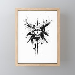 dungeons and dragons Framed Mini Art Print