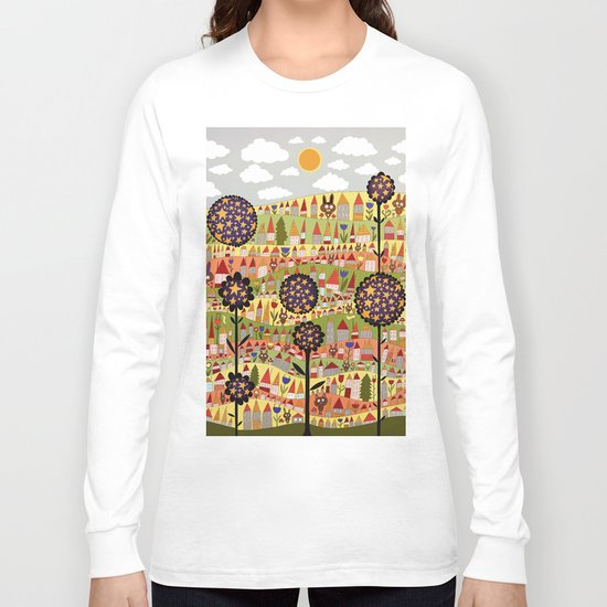 starflowers Long Sleeve T-shirt