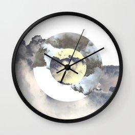 Circle Madness Wall Clock