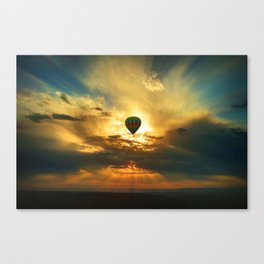Balloon in the Sky Canvas Print