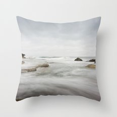 The Incoming Storm Throw Pillow