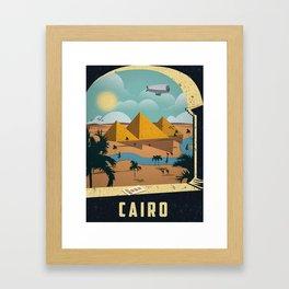 Vintage poster - Cairo Framed Art Print