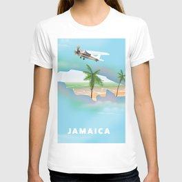 Jamaica Travel Poster. T-shirt