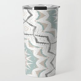 Planthouse Aztec Stone & Blue Travel Mug
