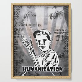 Vicissitudes I (Humanization) Serving Tray