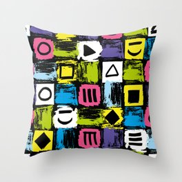 Fashion Patterns Shell-Shocked Throw Pillow