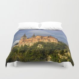 Basilica of Santa Maria la Real of Covadonga Duvet Cover