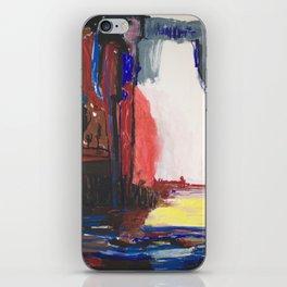 Dream blue iPhone Skin