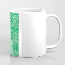 Simple Ogee Green Coffee Mug
