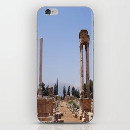 Ruins - Pillars & Mountains  iPhone Skin