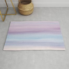 Pastel Watercolor Dream #1 #painting #decor #art #society6 Rug