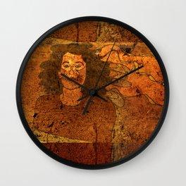 CatUna / Portrait Wall Clock