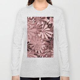 In The Tropics LIGHT PINK Long Sleeve T-shirt