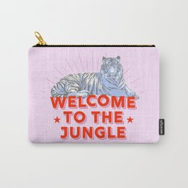 welcome to the jungle - retro tiger Carry-All Pouch