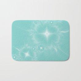 Fleur de Nuit in Aqua Tone Bath Mat