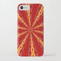 novelty iPhone & iPod Cases featuring FALL KALEIDOSCOPE  by Teresa Chipperfield Studios