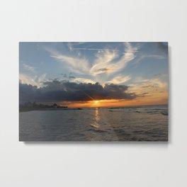 Yucatan Sunset #1 Metal Print