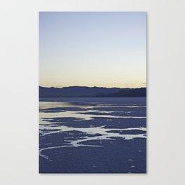 Utah Salt Flats Canvas Print