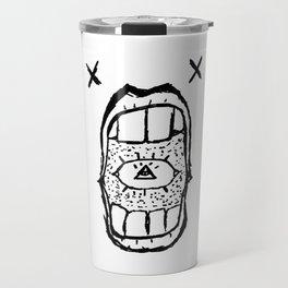 Blind Truth - Tattoo Design/Doodle/Sketch Travel Mug