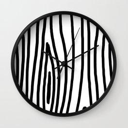 Raw Pattern Series: n.3 Wall Clock