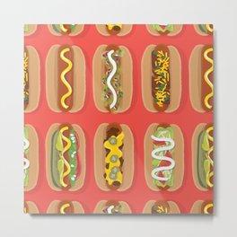 Hotdog! Metal Print