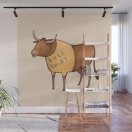 Bull Shirt Wall Mural