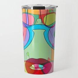 At a glance alien Travel Mug