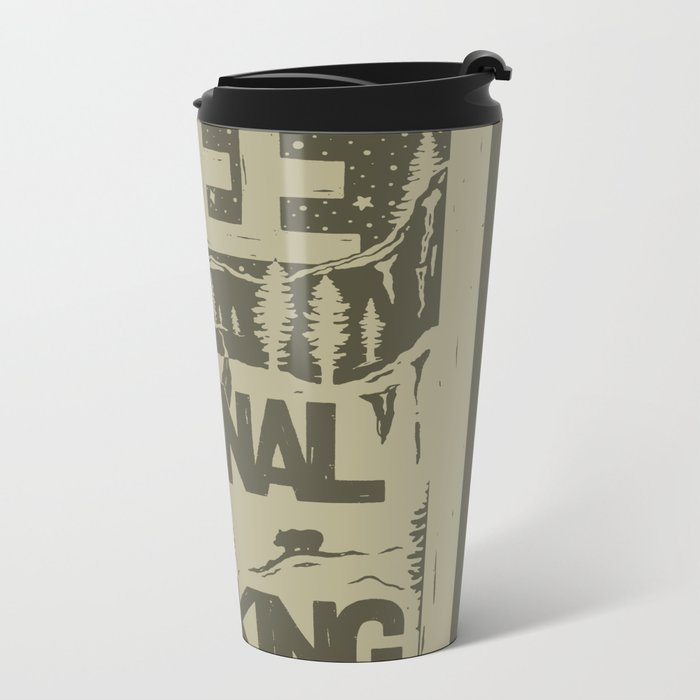 PRKNG Metal Travel Mug