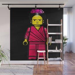 Frida Blocks Wall Mural