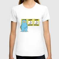rhino T-shirts featuring rhino by chee weng