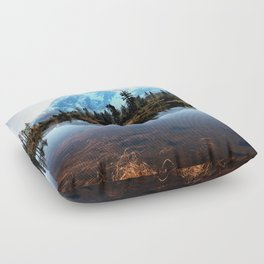 Mt Shuksan Floor Pillow