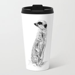 Meerkat in Charge Travel Mug