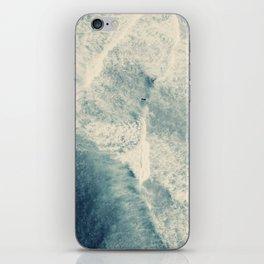 Ice Blue Surf iPhone Skin