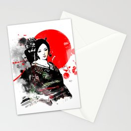 Kyoto Geisha Japan Stationery Cards