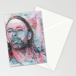 Thom Yorke - Give Up The Ghost Stationery Cards