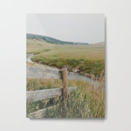 The Prairies Metal Print