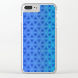 Triangulation Variation 4 Clear iPhone Case