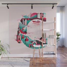 Wanderlust Alphabet – C is for Copenhagen Wall Mural