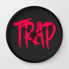 Trap Wall Clock
