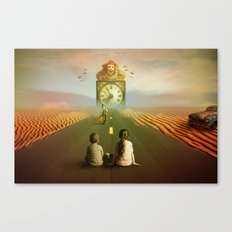 Time to grow up Canvas Print