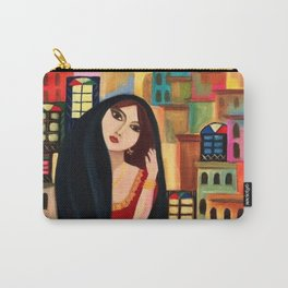 Baghdad girl Carry-All Pouch