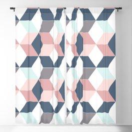 Starry cubes Blackout Curtain