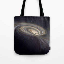Feather Galaxy Tote Bag