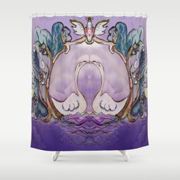 Jester B's Bush Nutrition Shower Curtain