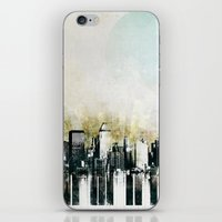 Music of The City iPhone & iPod Skin