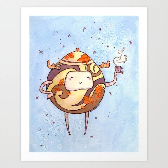 TeaMonster Art Print